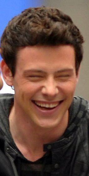 Cory Monteith being adorable<3