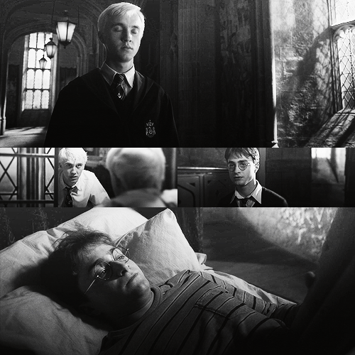 Draco and Harry - HBP