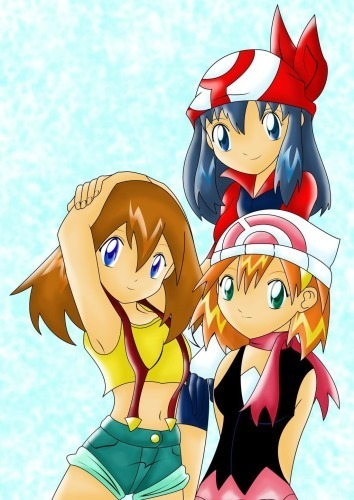 Misty, May, and Dawn