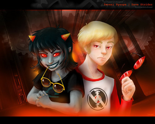 Terezi and Dave