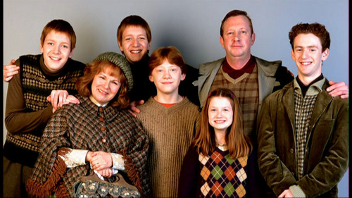 The Weasley Family!!!!!!!!!!