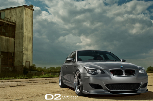 bmw E60 M5 oleh D2FORGED