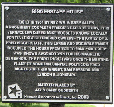 Biggerstaff House