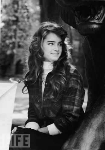 Brooke Shields visiting Princeton