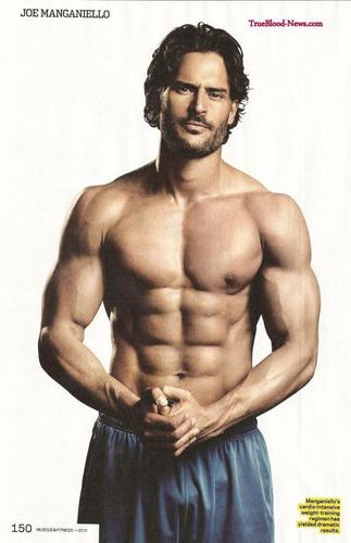 Joe Manganiello Covers July Issue of Muscle & Fitness