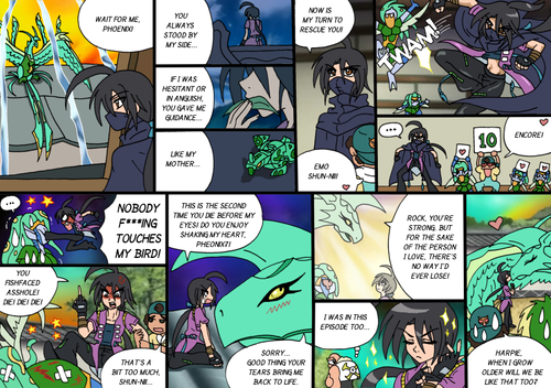New Bakugan Comic: Shake My cuore Once più