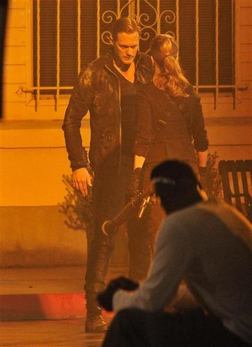 On the Set of True Blood - June 9