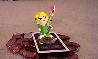 Toon Link on my 3DS