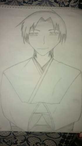 a pic of shigure i drew by myself...i hope u like it