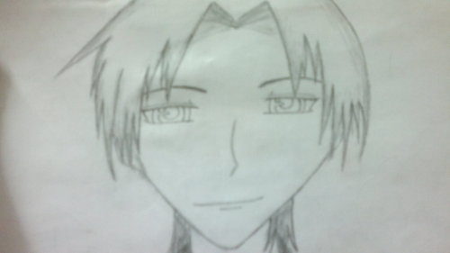 a pic of shigure i drew by myself