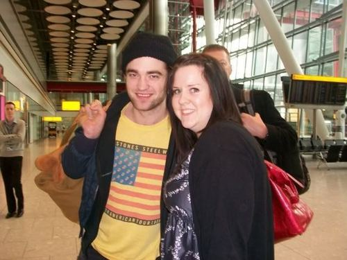 rob with Fans