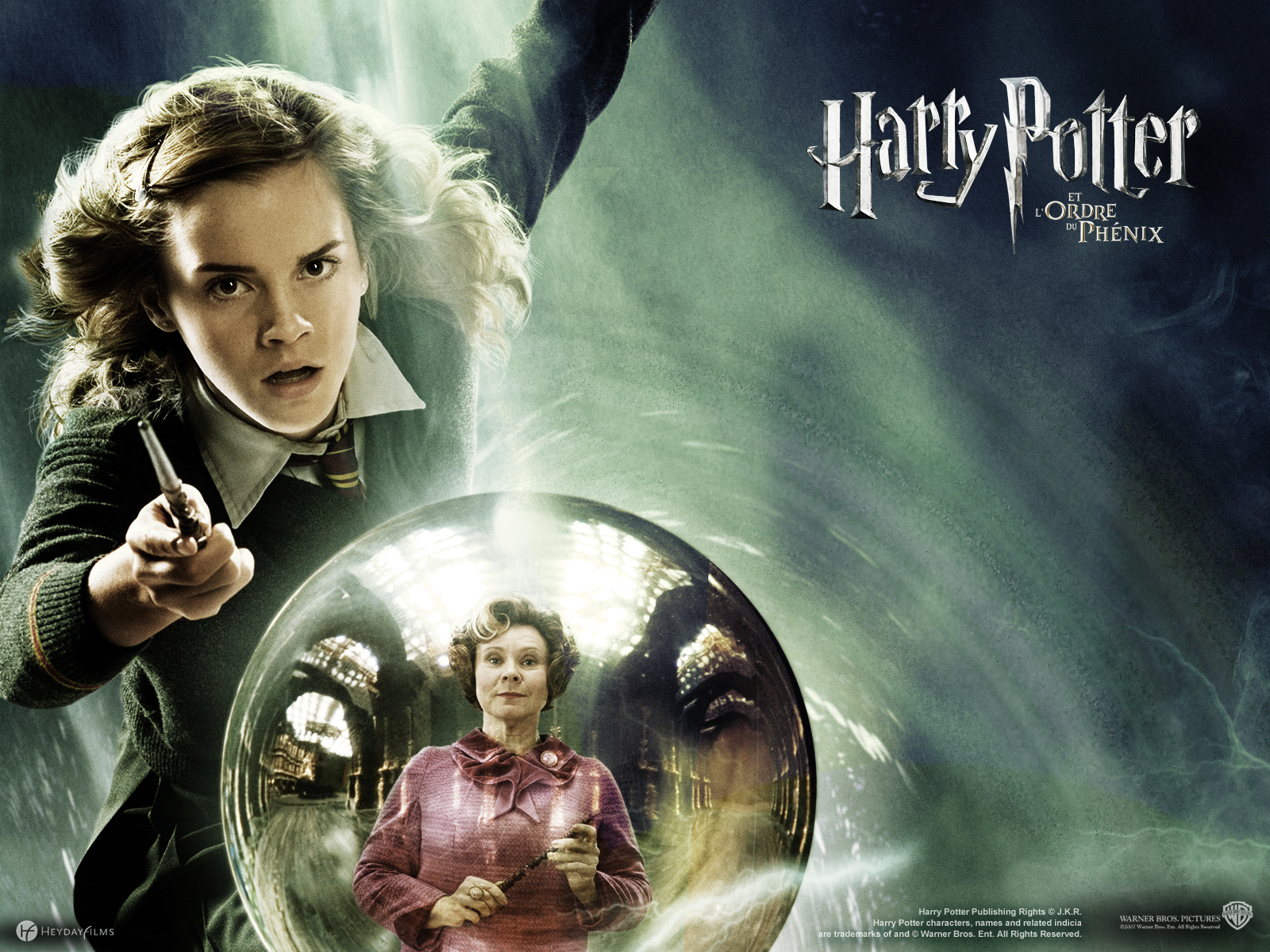 Harry Potter And The Order Of The Phoenix 2007 Hermione Granger Wallpaper 23219532 Fanpop