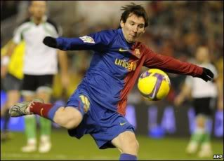 Messi The Crazy Man