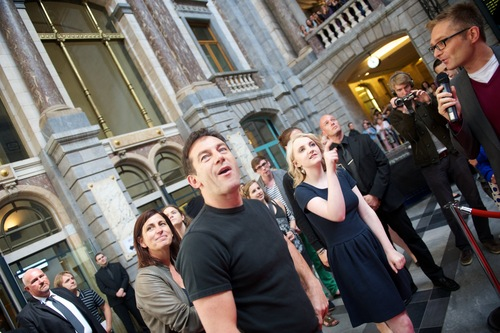 Opening photo exhibitions in Antwerp,29 June 2011