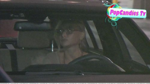 [June 29 2011] Leaving Lexington Social House in Hollywood