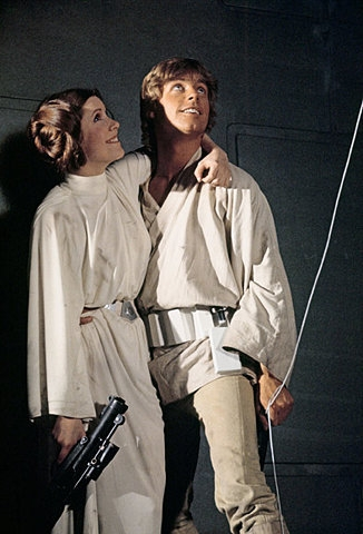 Leia and Luke
