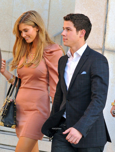 Nick Jonas & Delta Goodrem: Les Miserables Mates (06.29.2011) !!