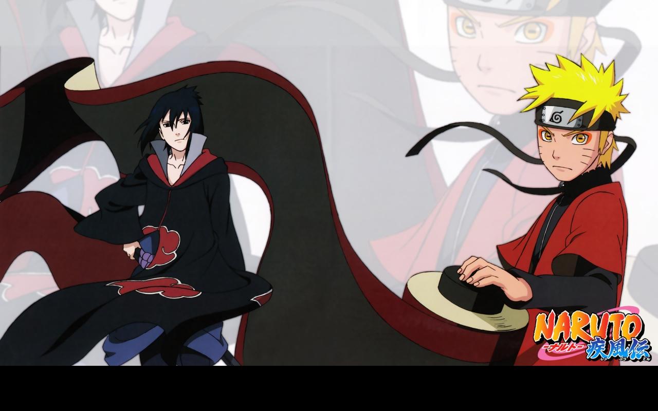 Sasuke and Naruto naruto shippuuden 23372652 1280 800