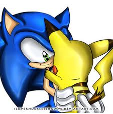 Sonic and 皮卡丘