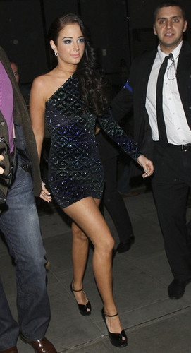 Tulisa at Cheryl Cole's 28th Birthday Party.