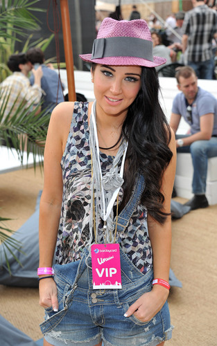 Tulisa at Wireless Festival in London, July 2.