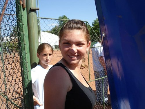 Simona Halep and her Cute Smile