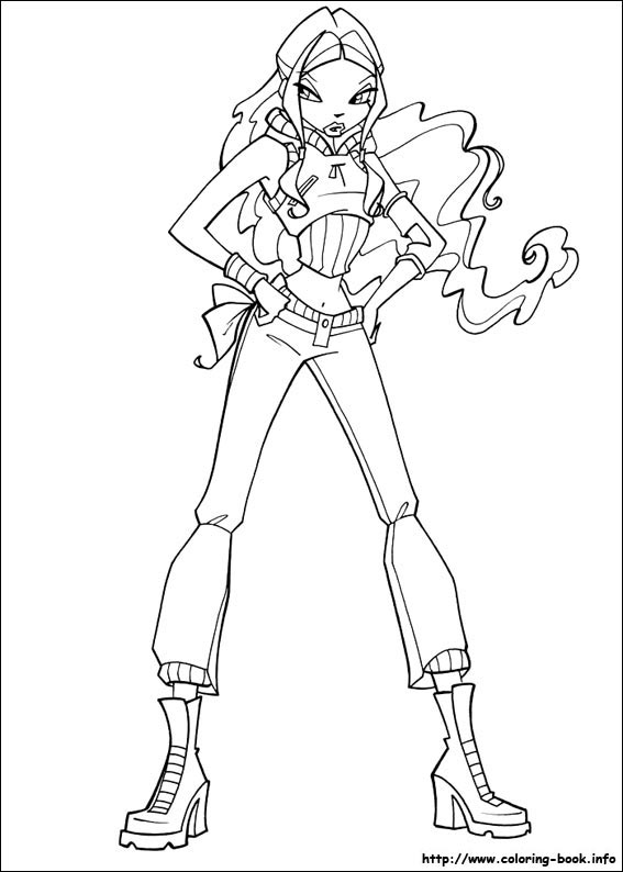 Colouring Pages Winx Club Fan Art 23364983 Fanpop
