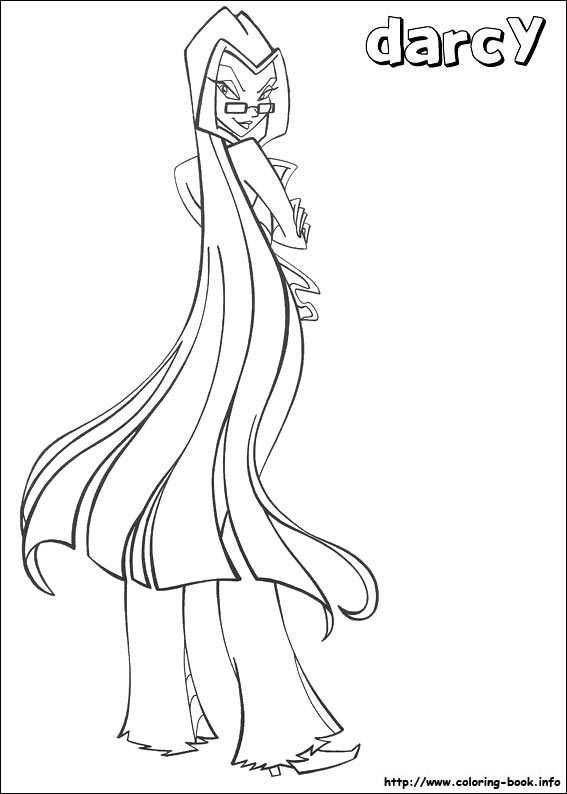Colouring Pages Winx Club Fan Art 23364993 Fanpop