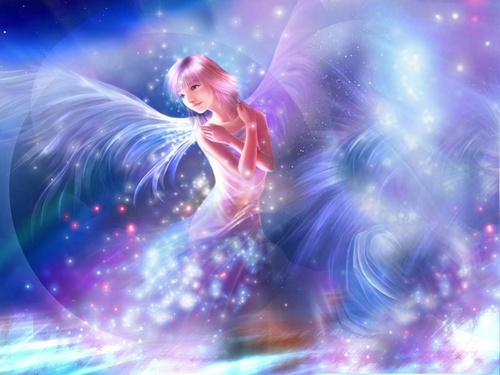 Angel Fairy - angels Wallpaper