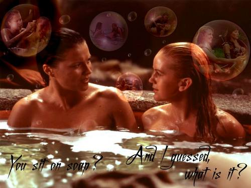 Gabrielle & Xena. Ties of amor