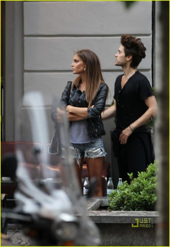 Jared Leto: Radetzky Cafe with Nina Senicar!