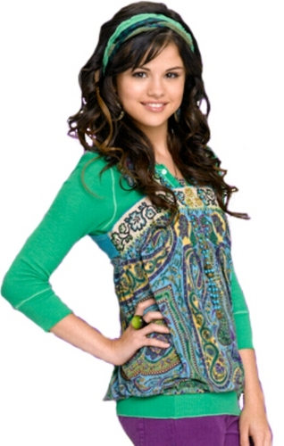 Selena as Alex Russo