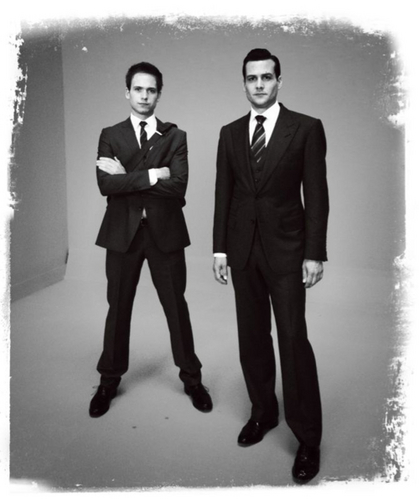 Suits ~ Harvey & Mike