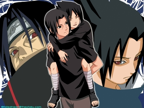 Brotherly Любовь ~itachi and Sasuke
