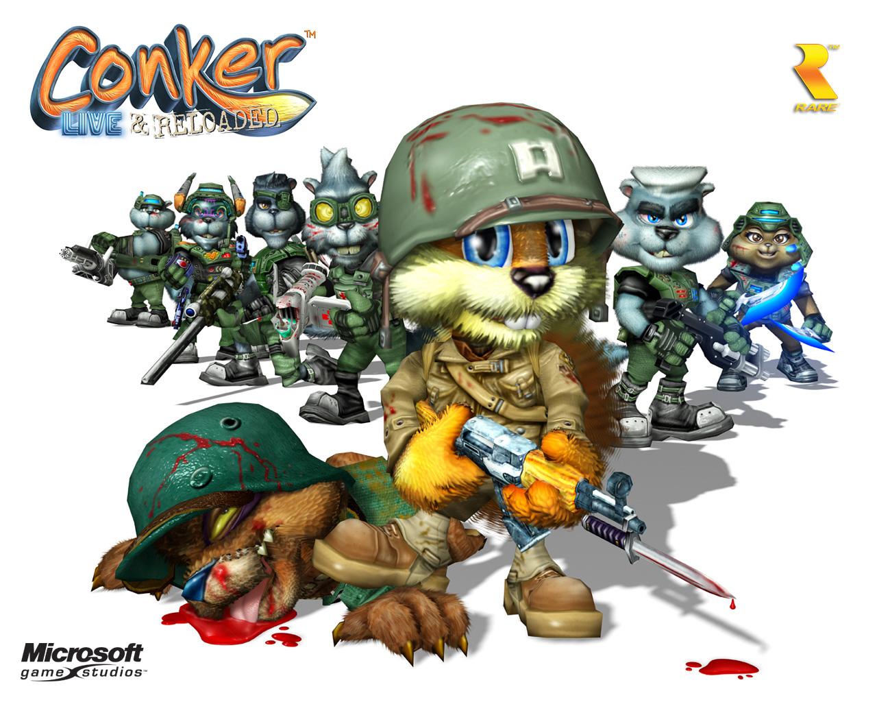 Conker L R Shc Conker Live And Reloaded Wallpaper 23531828