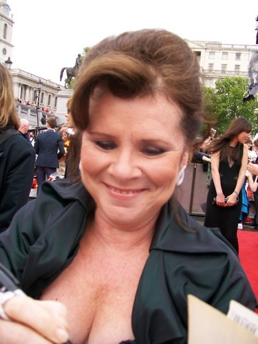 Imelda at DH part 2 London premiere