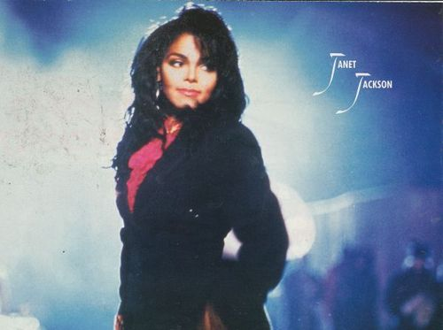 JANET JACKSON RHYTHM NATION ERA