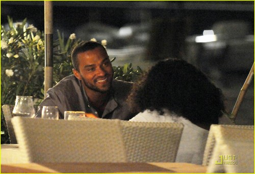 Jesse Williams: Italian ডিনার তারিখ with Aryn!