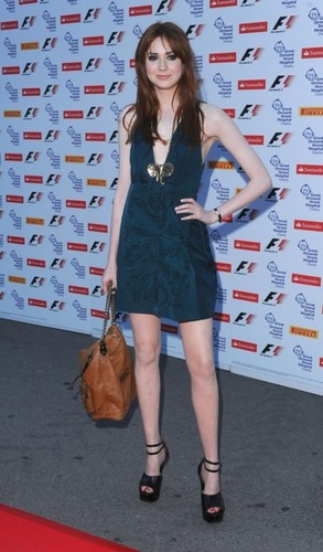 "Karen @ The Great Ormond 街, 街道 F1 Party At The Natural History Museum In 伦敦 ""06.07.11"