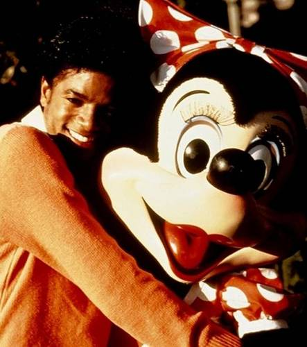 Mikey with Minnie :)