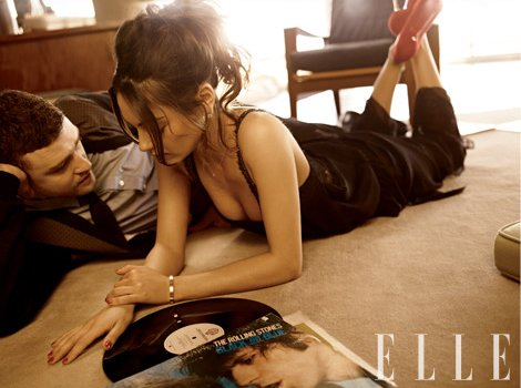 Mila and Justin cover Elle Magazine!