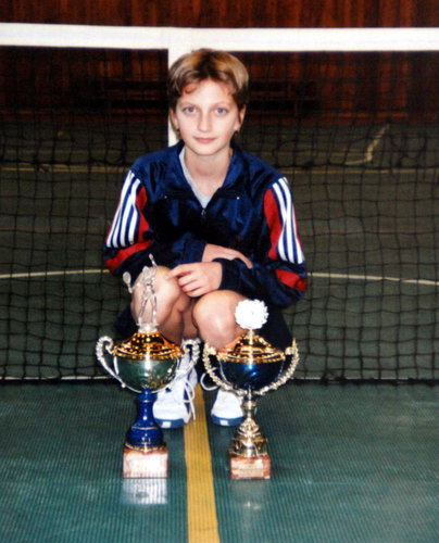 Petra Kvitova as child