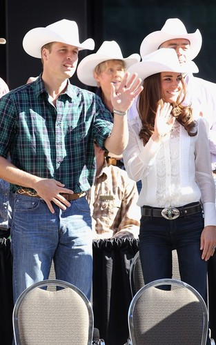 Prince William & Kate Middleton: Calgary Stampede Craziness