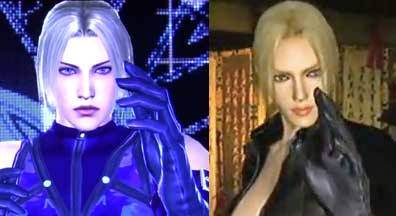 Tekken Tag 2 Face model comparison