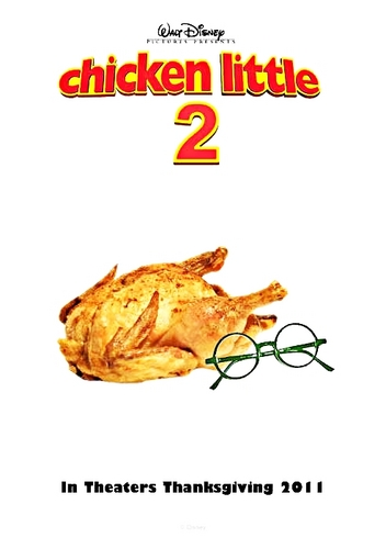 Walt Disney Fan Art - Chicken Little 2
