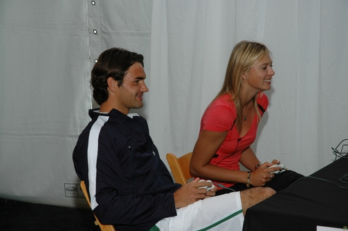 federer and sharapova