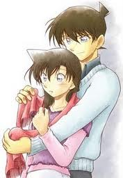 shinichi hugs ran