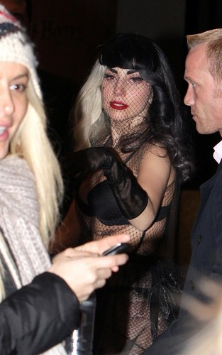 Lady gaga out in Sydney (July 10).