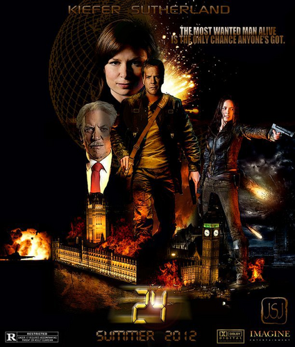 24: The Movie shabiki Poster