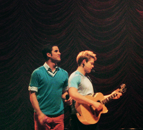 Darren & Chord in glee/グリー Live!